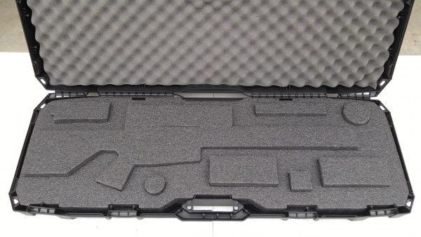 Economy AR Case with Pre-Cut HDPE Mil-std Foam