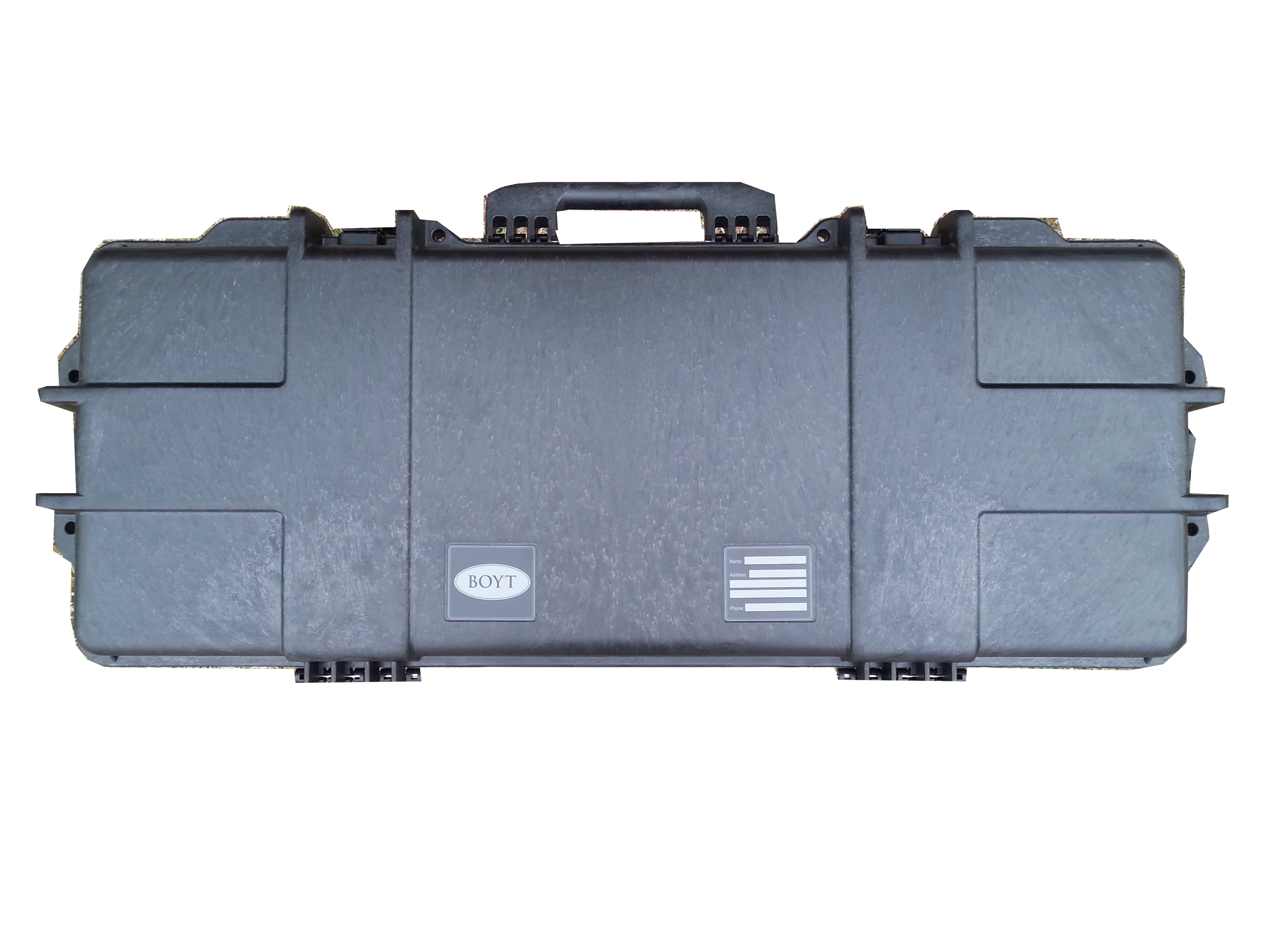 36″ Mil-Std Rifle Case with UNCUT BLANK Foam