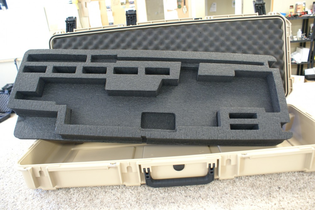 Desertech Custom Case Interior by Patriot Cases