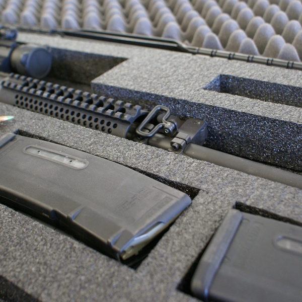 case features-military grade foam