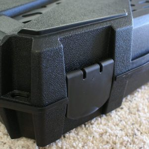 gun case features -latches